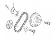 TIMING CHAIN & GEAR - UPPER